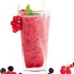 Smoothies με μύρτιλα