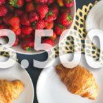 Συμβάλει η μείωση των 3.500 θερμίδων σε απώλεια βάρους  περίπου 0,5 κιλού;